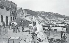 Το λιμάνι στο Κατάκολο