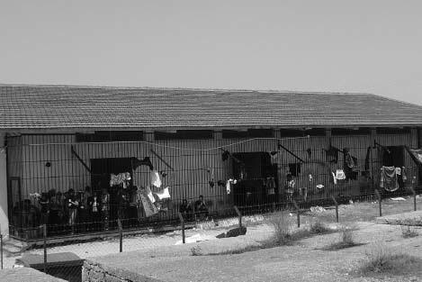 Πέπλος: χώρος κράτησης προσφύγων, Απρίλιος 2008