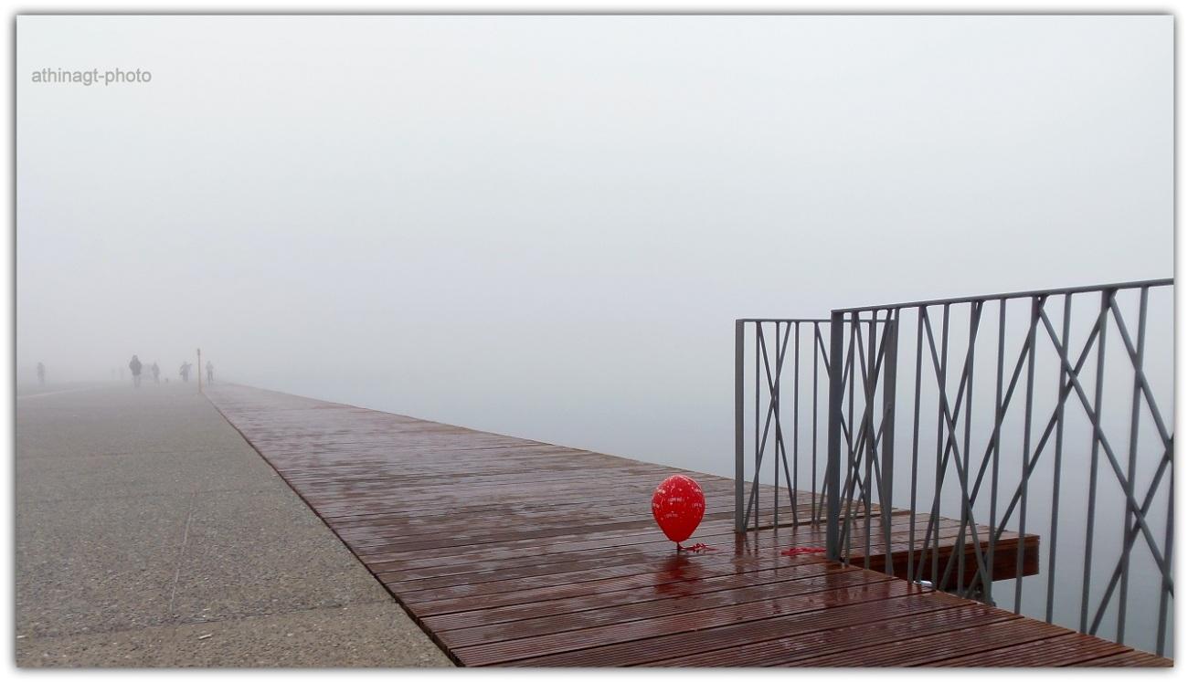 Le Balloon Rouge. Φωτογραφία της Αθηνάς Γαλανάκη, που διακρίθηκε σε διεθνή διαγωνισμό φωτογραφίας