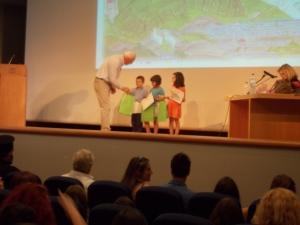βράβευση μαθητών στο διαγωνισμό ζωγραφικής η μάχη της Κρήτης