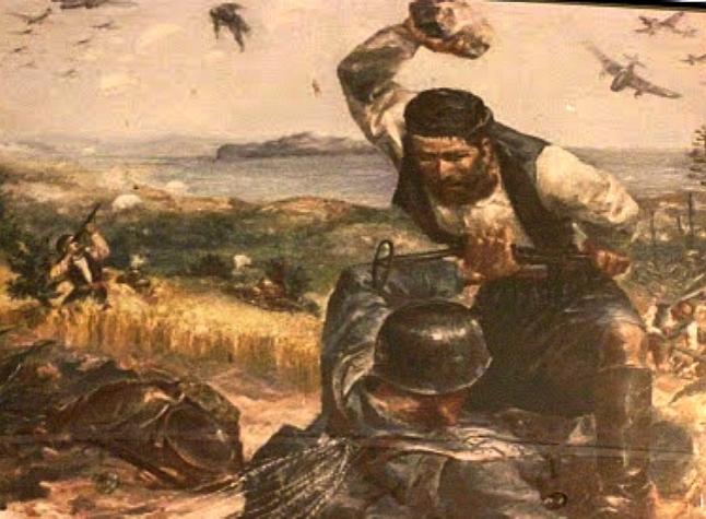 η μάχη της Κρήτης Βλαχάκης