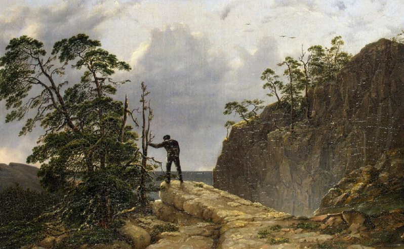 Hagen August Mathias - Mountains