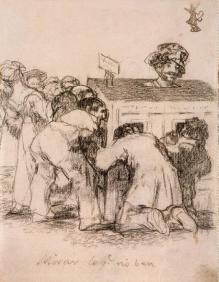 Goya Francisco - Looking at What They Cant See Μουσείο Ερμιτάζ