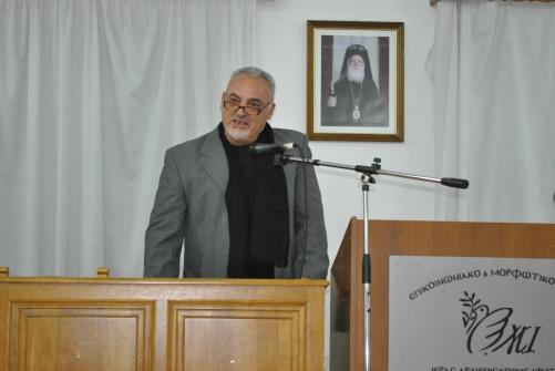 Ο Γιάννης Τσικαλάκης