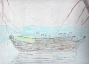 Ζωγραφιά του Κωνσταντίνου από το 10ο Δημοτικό Σχολείο Χανίων