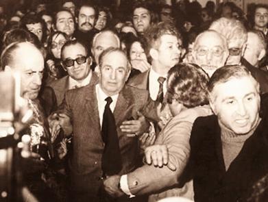 Η επιστροφή του Μενέλαου Λουντέμη στην Ελλάδα