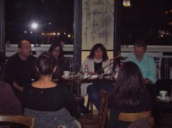 Από αριστερά: Γιώργος Ηλιάδης, Ελπίδα Γρηγοράκη, γεωργία Συσκάκη, Δημήτρης Δαμασκηνός