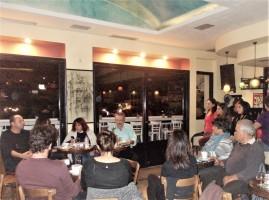 Από δεξιά: Γιώργος Ηλιάδης, Ελπίδα Γρηγοράκη, Γεωργία Συσκάκη, Δημήτρης Δαμασκηνός
