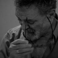 Ο ηθοποιός και συγγραφέας Γιώργος Ηλιάδης. Φώτο Δήμητρα Αθενάκη