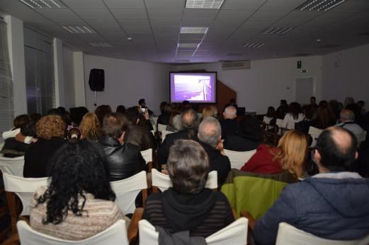 Από την παρουσίαση του βιβλίου της Κωνσταντίνας Χαριτάκη στο Πνευματικό Κέντρο, (φώτο Ε. Δεικτάκη)