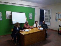 Από αριστερά: Αργυρώ Μπενάκη, Σπύρος Κήττας, Κωνσταντίνα Χαριτάκη και Χρήστος Τσαντής