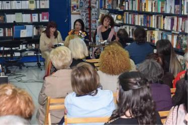 Από αριστερά: Σοφία Χριστοπούλου, Κατερίνα Παπαδάκη και Αλέκα Ράπτη